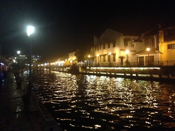 マラッカの夜景