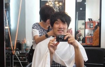 マレーシア:マラッカの美容室で髪を切ってみた