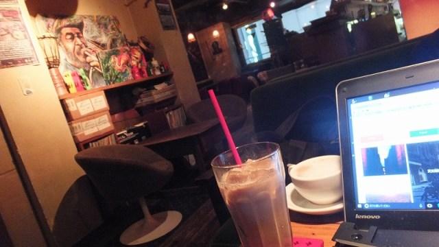 渋谷センター街近く:ノマドに宇田川カフェ