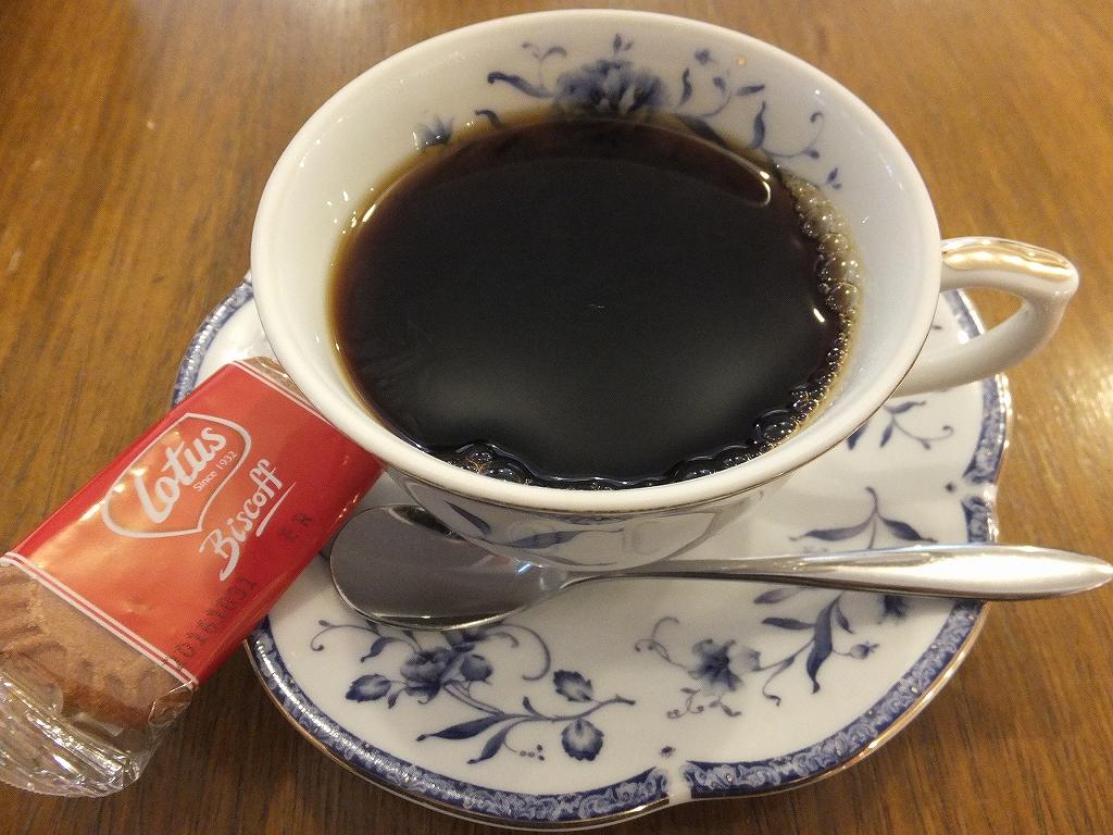 預言カフェコーヒー、あっさりしていて飲みやすい!