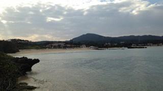 冬の沖縄の海♪青い海