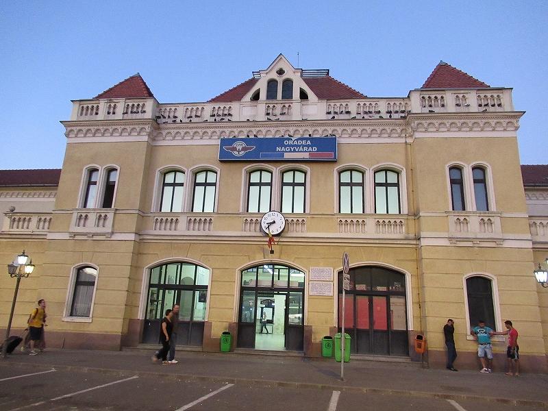 ルーマニア:オラデア駅