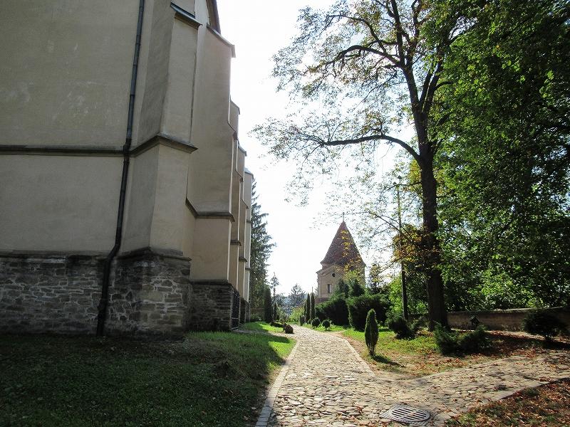 山上教会がある場所:ルーマニア旅行