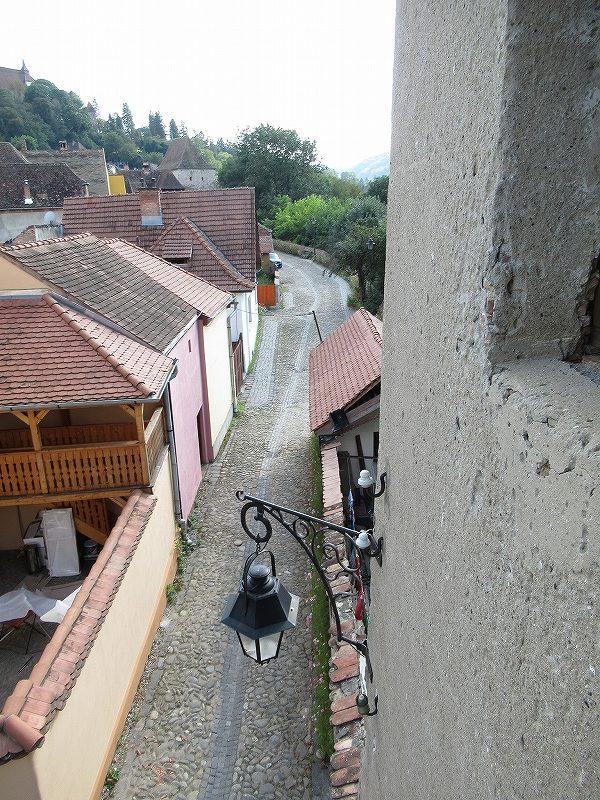 シギショアラ旧市街の様子:ルーマニア旅行