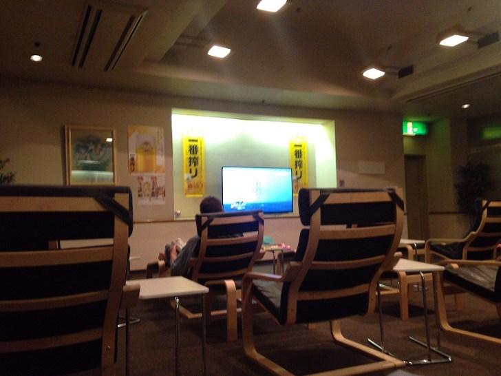 カプセルホテル蒲田:テレビもキレイ