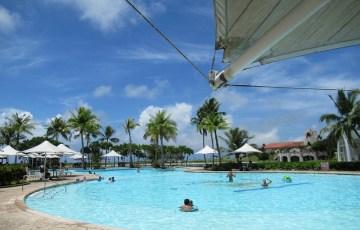 レオパレスグアムリゾートのプール!