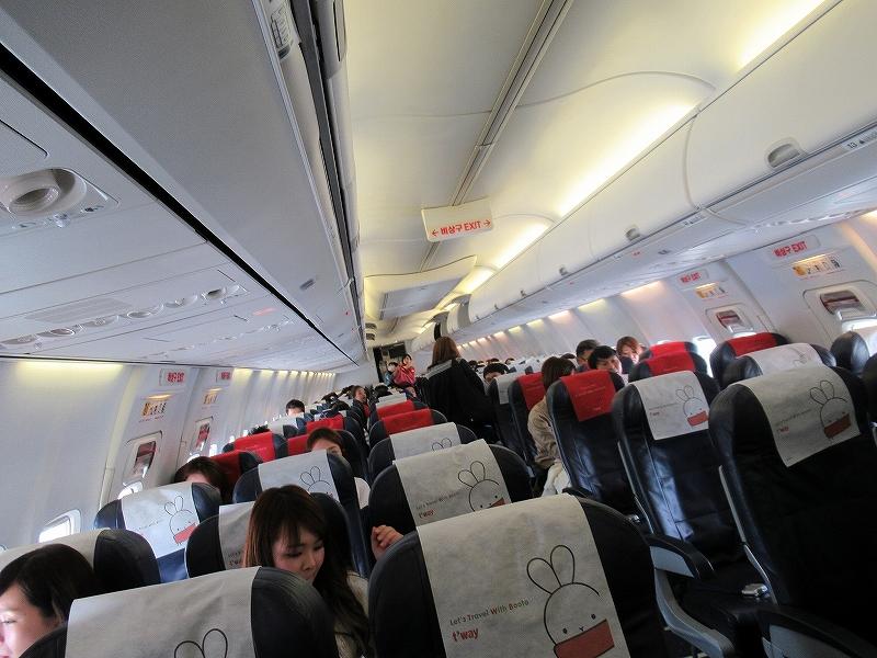 韓国の格安航空会社:twayでグアムへ!