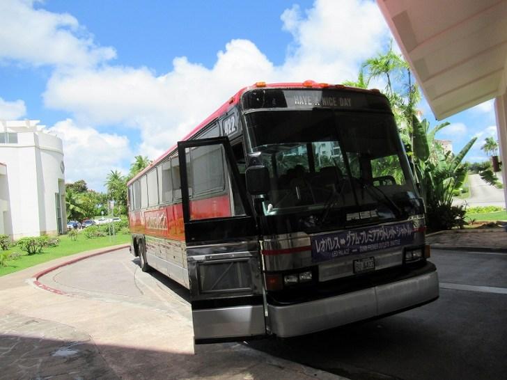 レオパレスとアウトレットを循環しているバス
