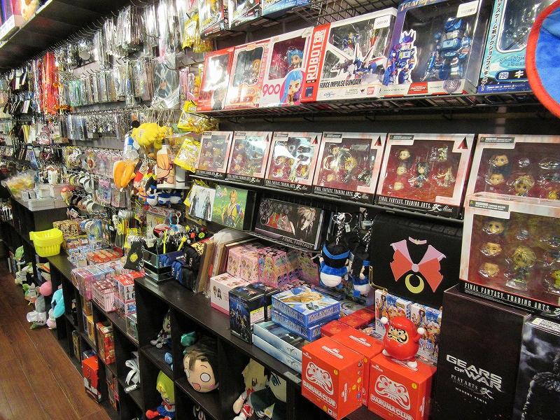 オタクのお店:日本のアニメグッズがたくさん!アガニャショッピングセンター