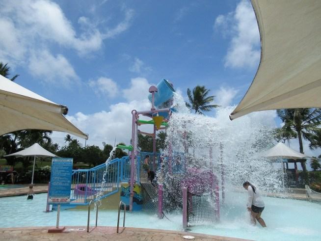 レオパレスグアムリゾートの子ども用のプール!
