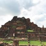 アユタヤ遺跡・ミャンマーに攻撃され滅亡