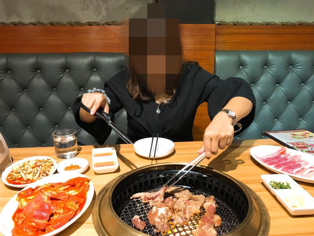 タイ・トンローで韓国の焼肉食べ放題♪