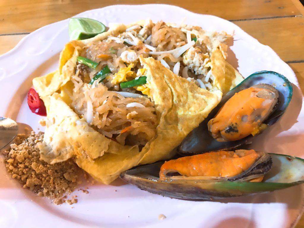 パッタイが美味しかった!タイ料理