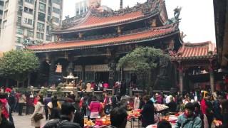 龍山寺の雰囲気