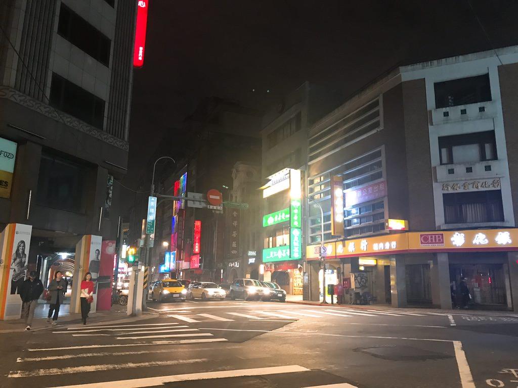旧暦正月でお店が全然空いてない・台湾旅行1