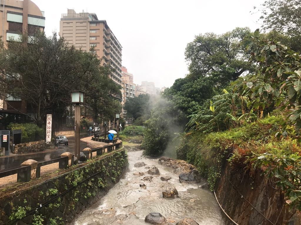 台湾・台北の温泉街:新北投