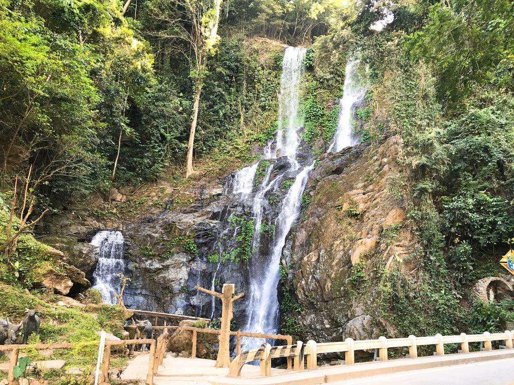 タマラオの滝・プエルトガレラ