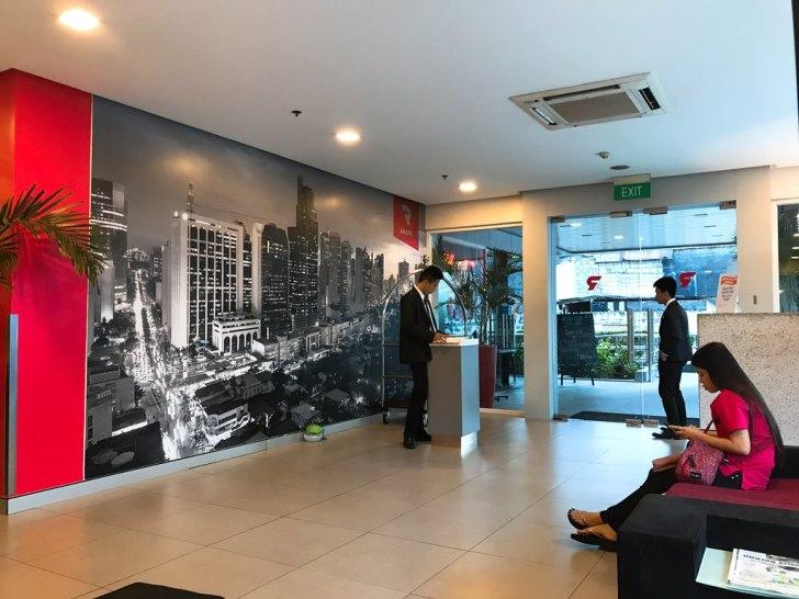 入り口・エアアジア系列のホテル・マニラ