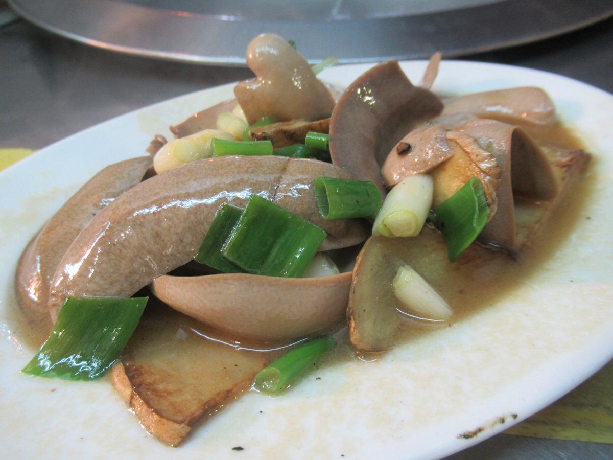 牛のホルモン!台湾料理