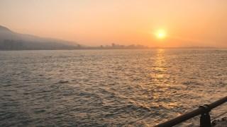 淡水の夕日・台湾旅行