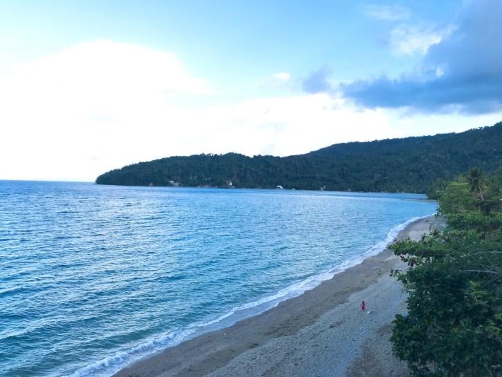 途中のビーチ・プエルトガレラ