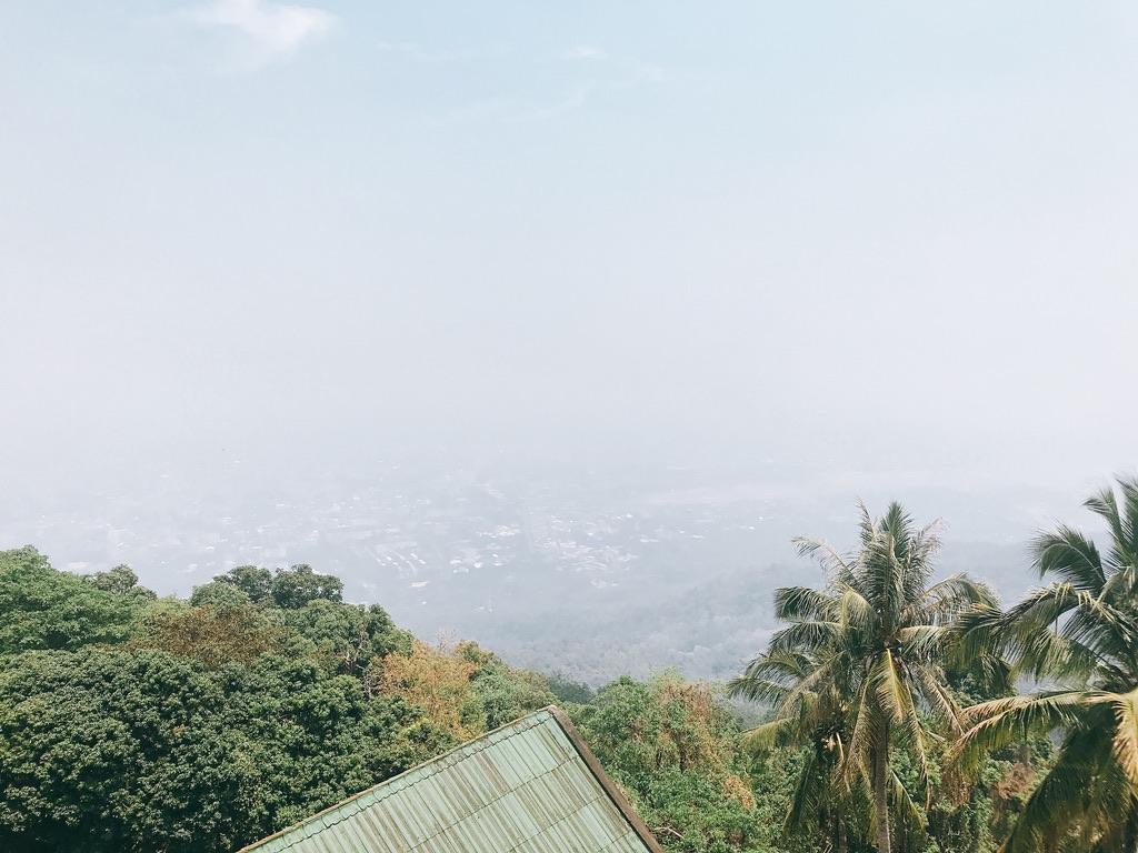 ドイステープからの景色・チェンマイ