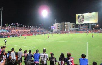 PATスタジアムの様子・タイサッカーリーグ
