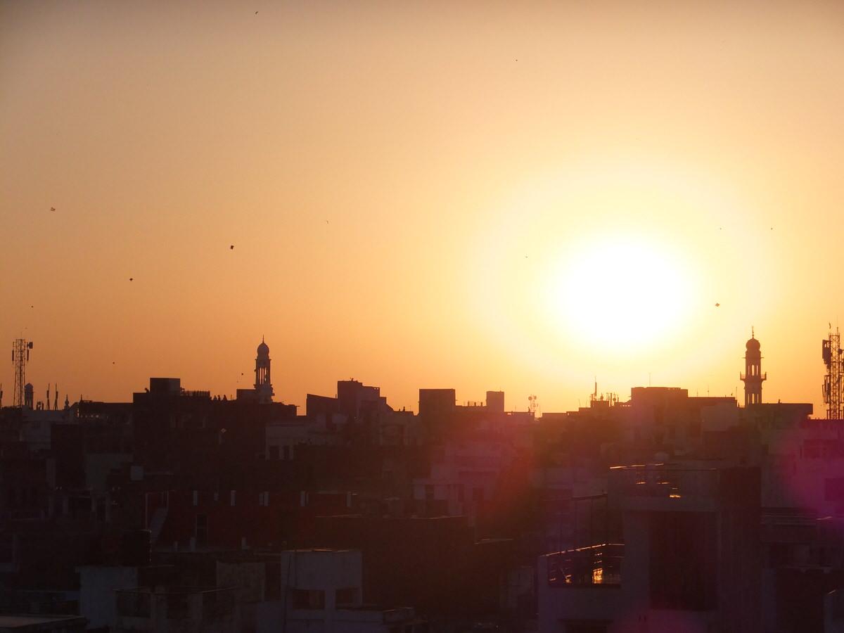インド・バラナシ・屋上