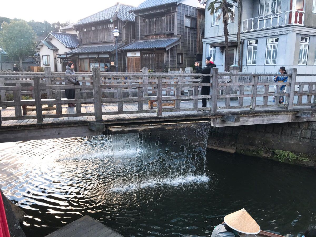 佐原・鹿島神宮旅行13:水が出てくる橋