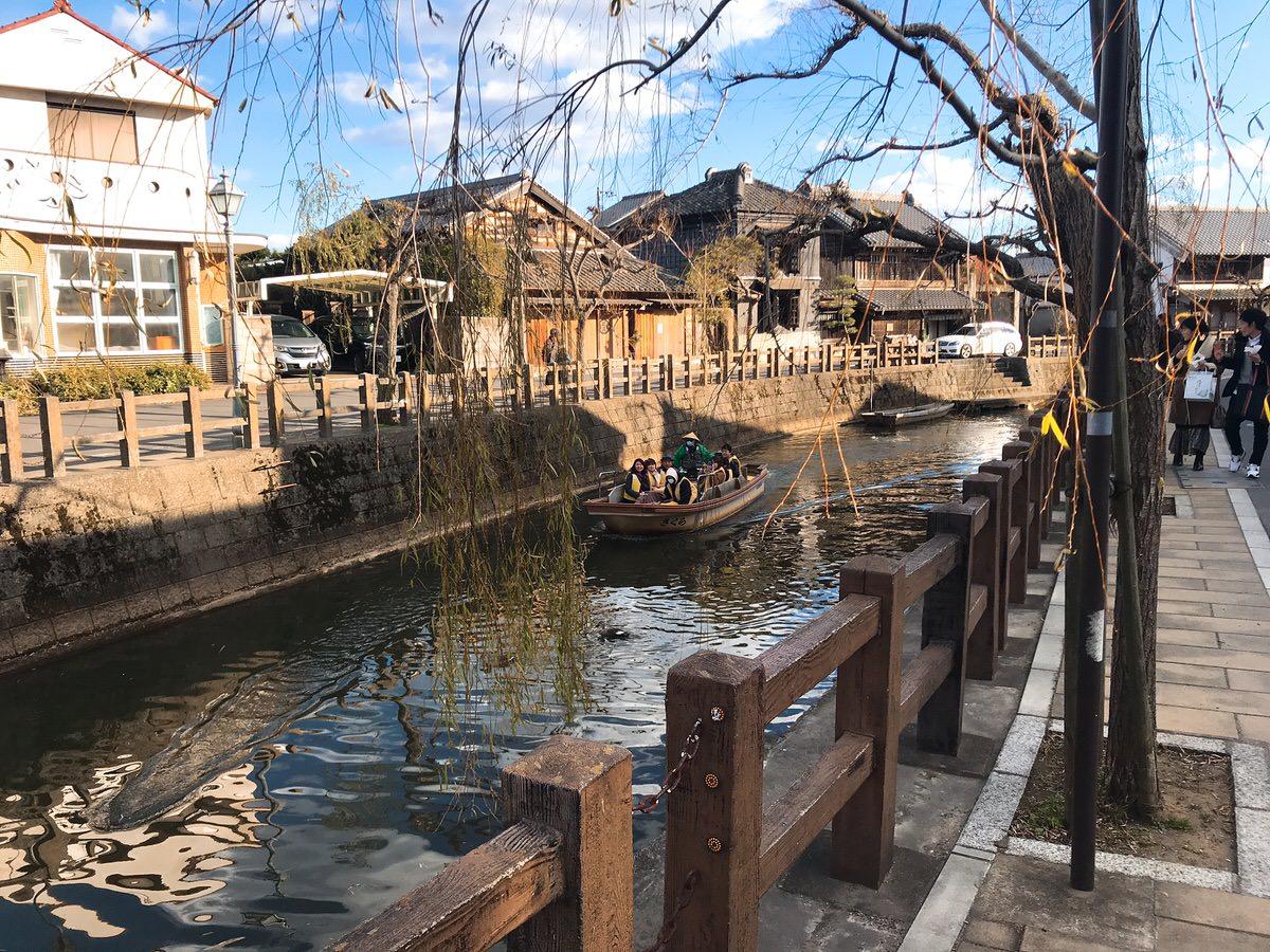 佐原・鹿島神宮旅行4:水郷の様子
