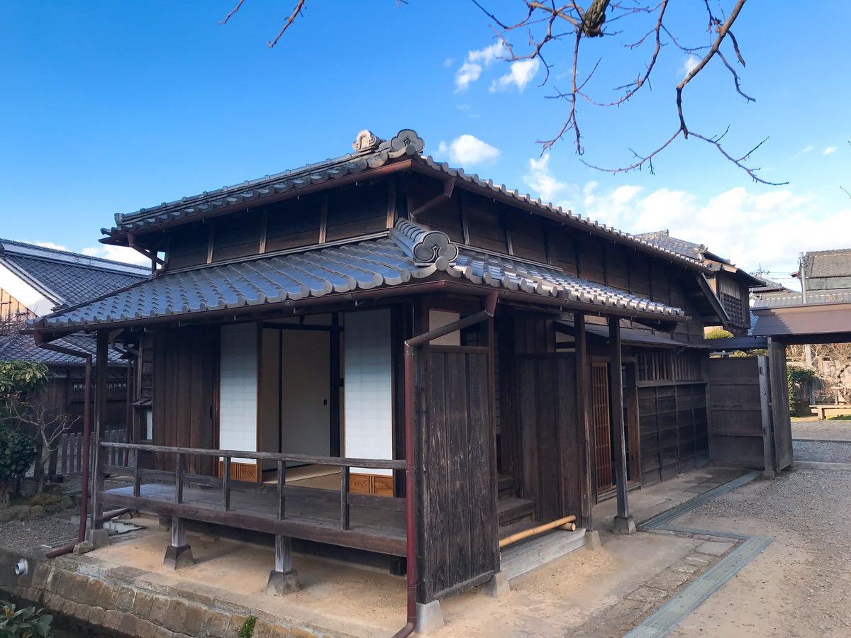 佐原・鹿島神宮旅行8:伊能忠敬旧宅