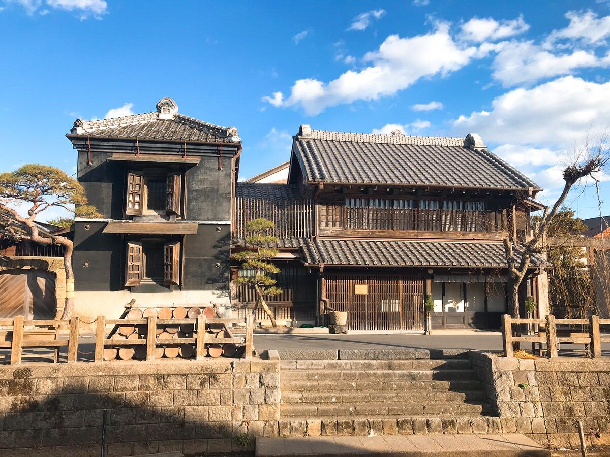 佐原・鹿島神宮旅行5:江戸時代からある蔵