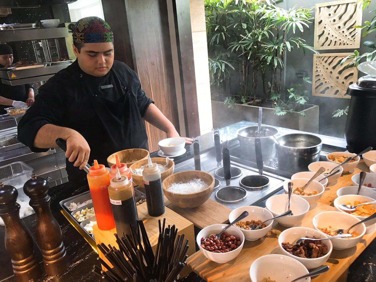 朝食:フェアフィールドbyマリオット・バリ(fairfield by Marriott Bali)