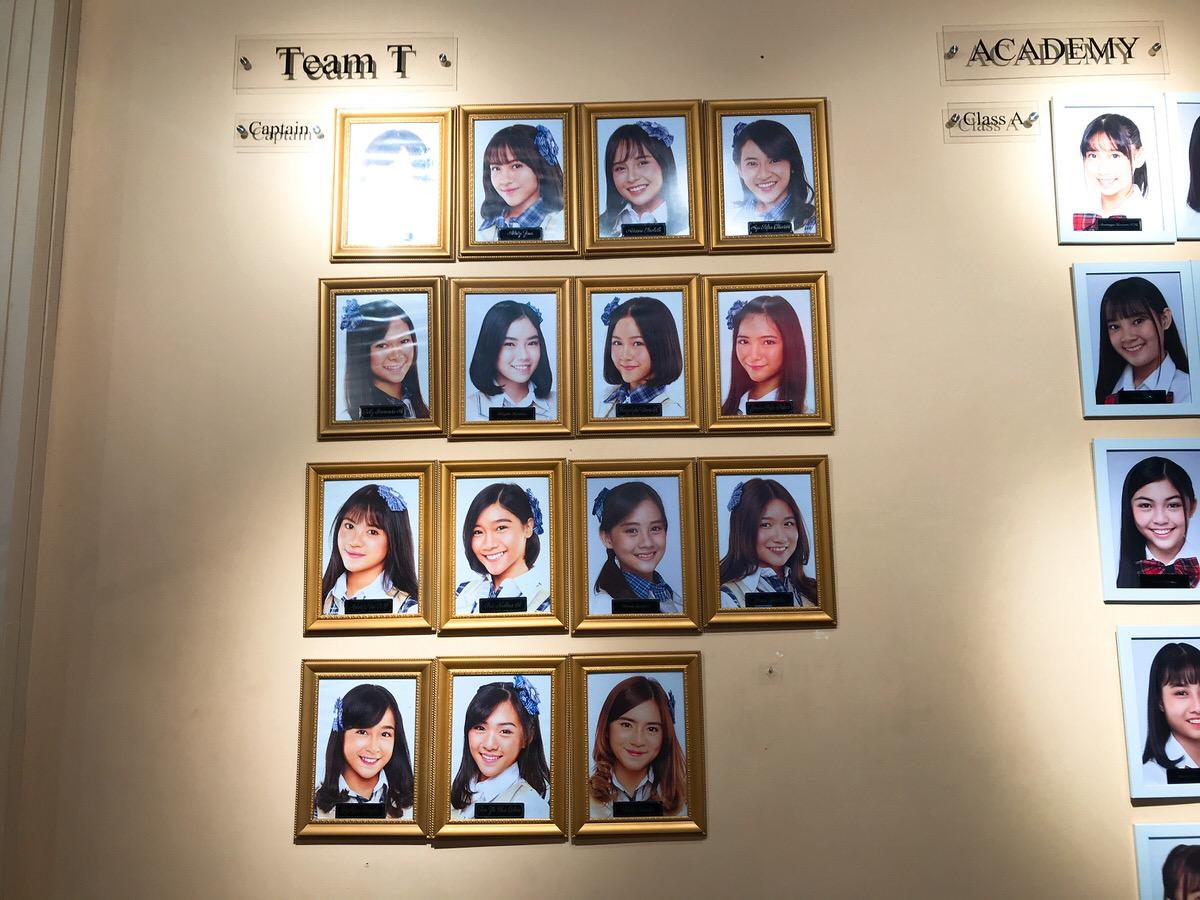 チームT・JKT48劇場・メンバー写真
