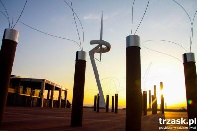 Wieża Calatrava na wzgórzu olimpijskim w Barcelonie
