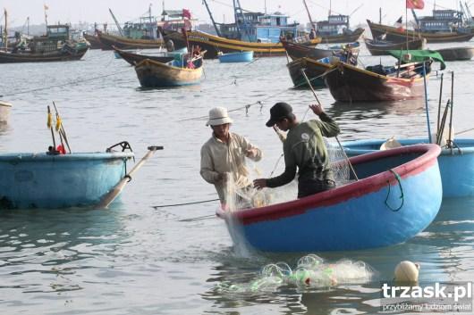 Połów ryb, Mui Ne, Wietnam