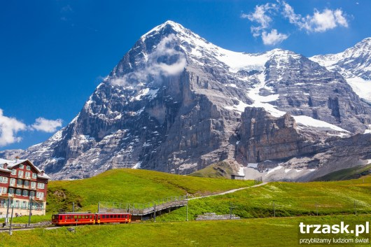 Eiger, północna ściana Alpy Szwajcaria
