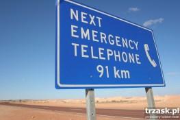Odległości w Australii : )