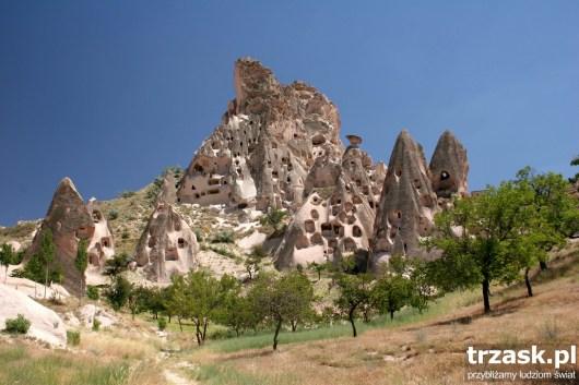 Zamek w Goreme, Kapadocja