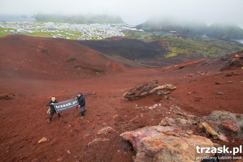 Wulkan Eldfell Islandia