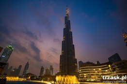 Burj Khalifa. At present it is the highest building in the Word, but the sheikhs may not have the last word.