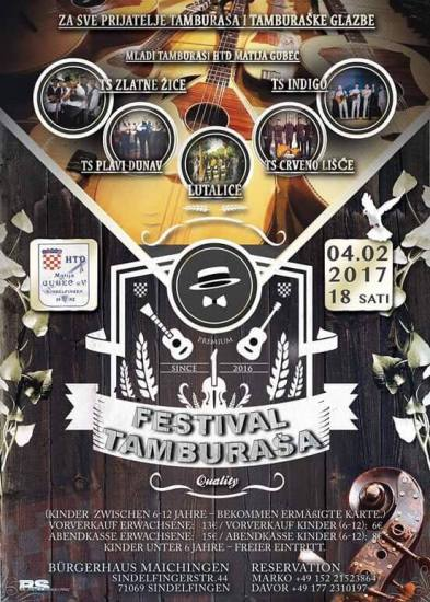 Festival Tamburasa 04.02.2017