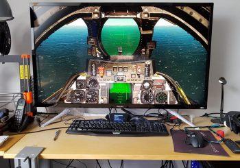 La simulation sur grand écran
