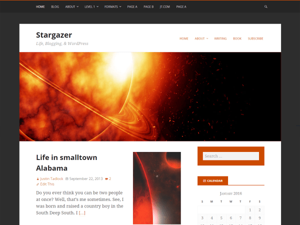 Best Free WordPress Themes for Mathematics and Science blogs