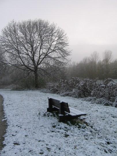 Drontenben járt a tél...
