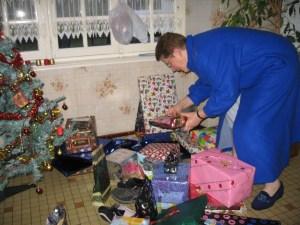 Marie et les cadeaux