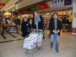 Bevásárlás a buli előtt