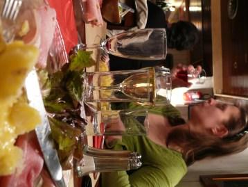 Borozás és Raclette