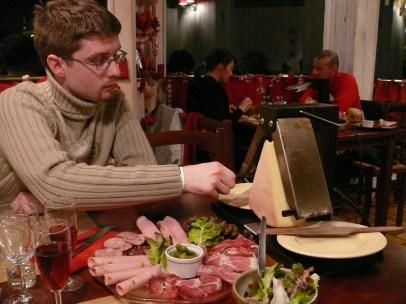 """Raclette """"puy saint vincent"""" módra"""