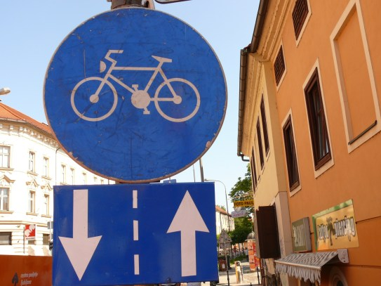 Ljubljana kerékpárút